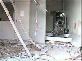Ladrões explodem caixa eletrônico em Atalaia - O barulho da explosão assustou os moradores.