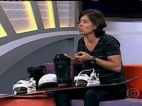 Isabel Clark fala sobre o início da carreira no Snowboard - Em viagem para os Estados Unidos, atleta se apaixonou pelo esporte.