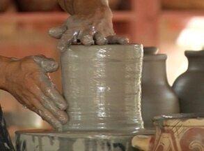 Conheça a história da cerâmica marajoara - Artesãos passam a tradição de geração para geração.