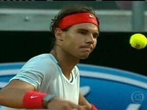 Masters 1000 de Roma já tem finais decididas - No masculino, Rafael Nadal e Roger Federer estão nas semifinais.