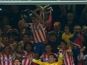 Atlético de Madrid encerra jejum contra rival e conquista Copa do Rei - Depois de 14 anos, equipe da capital venceu o dérbi.