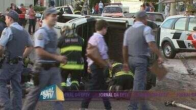 Chamada Jornal da EPTV 2 - 18/05/13 - Acidente mata criança de 7 anos no Centro de Ribeirão Preto.