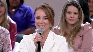 Paolla Oliveira diz que não largaria tudo por amor - Protagonistas de 'Amor à Vida' falam sobre relacionamentos amorosos