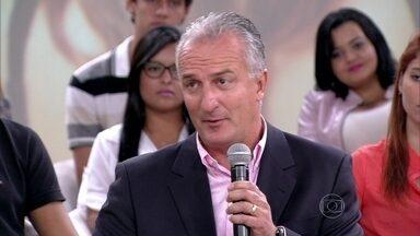 Dorival Júnior fala da decisão de tirar Neymar de campo - Técnico explica que a tomada de posição foi muito importante