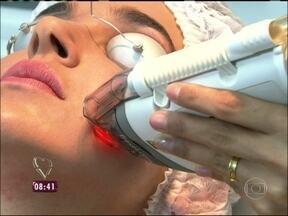 Confira as novidades para o rejuvenescimento da pele sem cirurgia - Tratamentos, porém, são caros, com valores chegando a R$ 7 mil