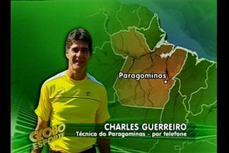 Charles Guerreiro confirma que fica no Paragominas - Treinador explicou os motivos para permanência.