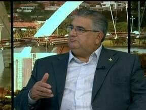 Secretário especial da Copa fala sobre venda de ingressos para Santos e Flamengo - Para tirar as últimas dúvidas sobre a realização do jogo entre Santos e Flamengo no Estádio Mané Garrinha, o secretário especial da Copa, Cláudio Monteiro, fala sobre o assunto.