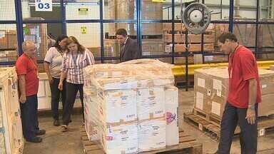 Aeroporto de Manaus passa a ter serviço da Receita Federal o dia todo - Trabalho de desembaraço de cargas será de 24 horas por dia.Serviço está funcionando 24 horas por dia, segundo a Receita Federal.