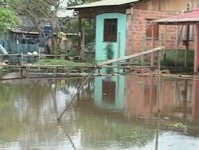 Cheia dos rios afeta famílias em Barreirinha - Mais de 500 famílias estão afetadas pela cheia dos rios na cidade de Barreirinha.