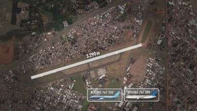 MP finaliza ações que pedem adequações nas obras do Leite Lopes - Segundo a promotoria, sem adequações, a área do aeroporto vai ficar fora das normas de urbanismo e de segurança.