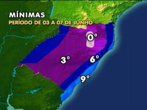 Confira como será o tempo na próxima semana - O predomínio será de clima seco e com baixas temperaturas.