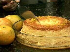 Aprenda a fazer um delicioso pudim de laranja - Aproveite a ótima safra de citrus do ano para saborear essa sobremesa.