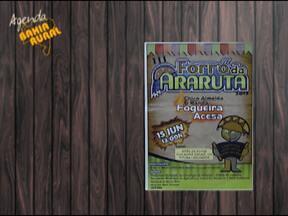 Confira a agenda de eventos do Bahia Rural - Entre as opções está o Forró da Araruta, que acontece no dia 13 de junho, a partir das 13h.