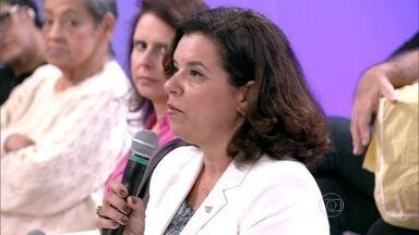 Áurea de Souza diz que o FGTS ainda não é obrigatório - Juíza do trabalho esclarece dúvidas de Raimunda
