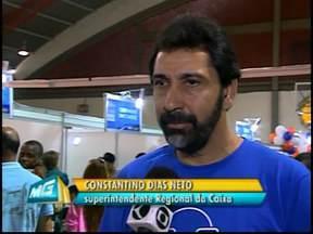 Feirão da Caixa é realizado em Divinópolis, MG, neste sábado - Feira é realizada no Ginásio Poliesportivo Fábio Botelho Notini, que fica na Avenida Getúlio Vargas, nº 930, até às 17h.