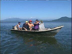Mutirão tenta limpar a baía de Antonina - Pescadores, catadores de lixo e ambientalistas estão unidos numa campanha que quer limpar as águas da baía de Antonina, e também conscientizar para que não se jogue lixo na rua ou no mar.