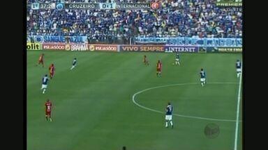 Cruzeiro e Internacional empatam em 2 a 2 - Cruzeiro e Internacional empatam em 2 a 2