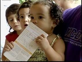 Dia D contra a poliomielite movimentou os postos de saúde no Leste de Minas - Vacinação é para crianças de 06 meses a 5 anos.