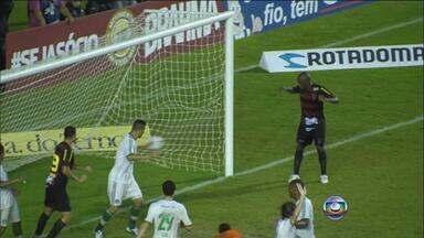 Sport vence o Palmeiras por 1 a 0 em jogo no Recife - Partida foi disputada na Ilha do Retiro, Zona Oeste da capital.