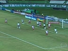 Coritiba vence e garante liderança do Campeonato Brasileiro - O Coritiba fez 1 a 0 contra o Náutico e é líder do Brasileirão. Já o Fluminense venceu de virada o Goiás por 2 a 1. Ronaldinho Gaúcho também marcou neste domingo (9), pelo Atlético-MG.