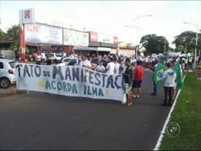 Confira a edição especial do Tem Notícias do noroeste paulista para o G1 - A edição especial do Tem Notícias para o G1 mostra os protestos no noroeste paulista que foram organizados nesta quinta-feira.