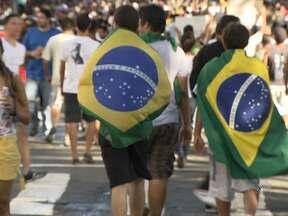 Milhares de baianos participam de protesto em Salvador - A concentração ocorreu no início da tarde da última quinta, na Praça do Campo Grande.