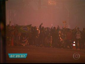 Manifestação termina em confusão e correria em São Bernardo do Campo, no ABC paulista - O protesto perto do prédio da Prefeitura em São Bernardo do Campo, na região do ABC paulista, na quinta-feira (20), terminou em confusão e correria. As principais ruas do centro da cidade foram tomadas pelos manifestantes.