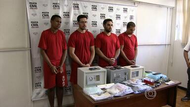 Quatro homens são presos suspeitos de tráfico de drogas sintéticas em Belo Horizonte - Material ilícito era distribuído em boates da capital mineira.