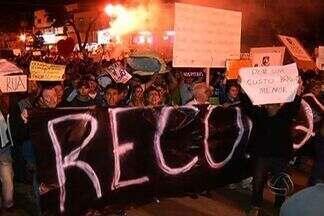 Em Dourados(MS) 15 mil pessoas foram as ruas para protestar - Redução da tarifa de ônibus e melhores condições na saúde e na educação foram uns dos pedidos da população