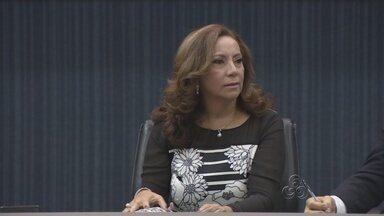 Câmara Municipal de Manaus prestou homenagem à Socorro Guedes - Socorro é vice-presidente do Tribunal de Justiça do Amazonas