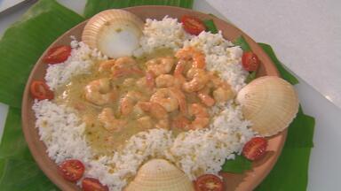 Caril do Taiti - Chef Leandro Ricardo ensina receita com camarões.