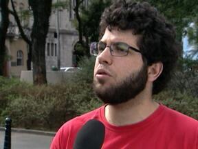 Representante do MPL disse que não irão convocar novas manifestações - Em entrevista ao SPTV, Lucas Monteiro, integrante do Movimento Passe Livre, disse que o objetivo inicial, que era a revogação do aumento das tarifas do transporte público, foi cumprido e não irão organizar novos protestos.