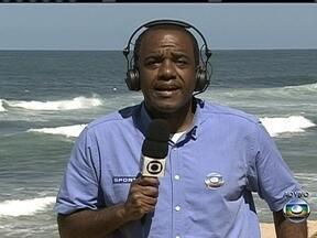 Abel Neto fala sobre os ultimos preparativos da Seleção para o jogo contra a Itália - Repórter reafirma a saída de Paulinho da equipe por conta de uma entorse.