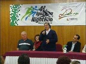 Corrida Noturna é lançada em Foz do Iguaçu - Percurso terá 8 km e corrida será realizada dia 3 de agosto. Inscrições pelo site www.iguassunightrun.com.br