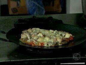 Empresário explica como fazer receita de Filé Arado em Ituiutaba, MG - Prato foi destaque em um concurso de gastronomia na região do Pontal do Triângulo.