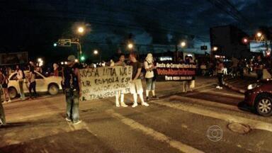 Recife tem terceiro dia consecutivo de manifestações - Protesto seguiu pelas avenidas Agamenon Magalhães e Abdias de Carvalho, mas foi pacífico.