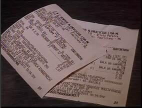 Lojistas têm prazo para indicar valor de impostos em nota fiscal - Lei Federal entrou em vigor há duas semanas