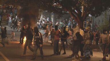 Polícia Civil de Campinas identifica vândalos que promoveram depredações - A Polícia Civil de Campinas identifica vândalos que promoveram depredações durante atos de protesto.
