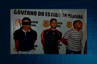 Bandidos assaltam correspondente bancário em Patos, na Paraíba - Eles foram presos quando tentavam fugir.