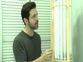 Mauricio Arruda ensina a fazer a luminária Fluor - Mauricio Arruda ensina a fazer a luminária Fluor