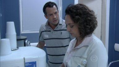 Bruno diz a Ordália que Paloma está diferente com ele - Ela tenta tranquilizar o filho