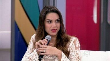 Fernanda diz que cunhada cresceu na inclusão social - Atriz conta de quais atividades Julia desfruta nos Estados Unidos