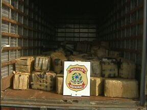 PF apreende mais de nove toneladas de maconha - Número de apreensões aumentou neste ano, segundo a Polícia