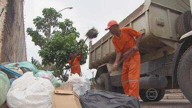 Mais de 90 bairros do Recife vão passar por uma faxina. - Mutirão pra recolher o lixo jogado pela população nas ruas, calçadas e canais começou pelo Arruda.