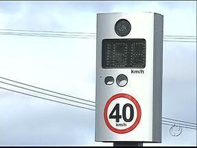 Postos da Polícia Rodoviária ganham lombadas eletrônicas - Velocidade máxima não é respeitada nas rodovias