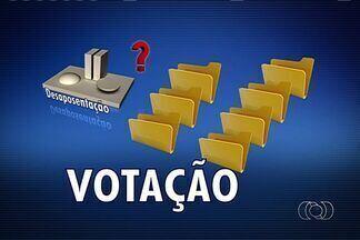 Projeto de lei que prevê a desaposentação deve demorar a ser votado, em Goiás - O projeto de lei que garante ao aposentado que voltou a trabalhar o direito a uma revisão no valor do benefício deve demorar a ser votado. O processo é chamado de desaposentação.