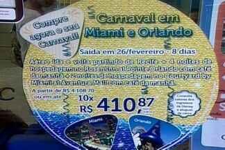Consumidores paraibanos devem prestar atenção nos contratos de agências de turismo - Vários pacotes não incluem serviços que podem provocar dor de cabeça durante o passeio.
