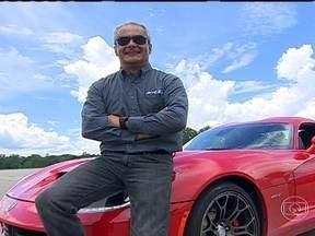 Projeto da nova versão do Viper tem 'dedo' de um brasileiro - AutoEsporte leva para a pista o superesportivo de 6480 cv, que renasceu nos EUA após a crise econômica americana.