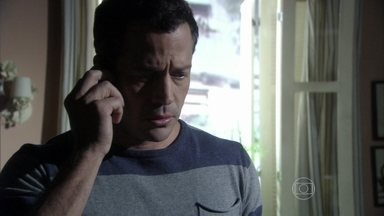 Bruno marca um encontro com Ordália e Glauce - Ele pede que as duas o encontrem no escritório de Silvia