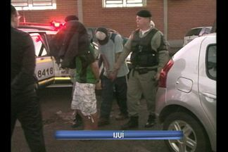 Lotérica no Bairro Glória em Ijuí foi assaltada - Depois de buscas a brigada militar encontrou os suspeitos.